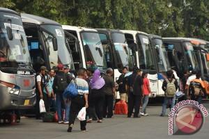 171.973 orang tinggalkan Jakarta gunakan bus