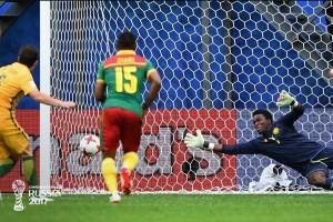 Australia gagalkan kemenangan Kamerun berkat gol penalti Milligan
