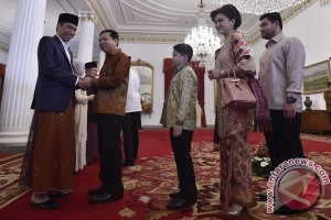 Presiden Open House Di Istana