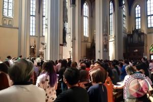 Doa umat Katedral untuk umat Islam di Idul Fitri