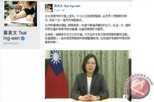 Taiwanese President extends Idul Fitri remarks in Bahasa
