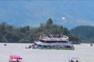 Kapal tenggelam di bendungan Kolombia, sembilan orang tewas