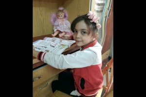 Gadis 8 tahun asal Suriah jadi orang berpengaruh di dunia maya