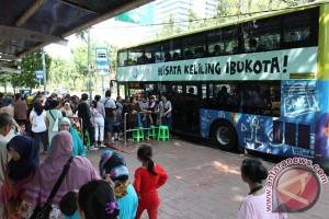 Bus Tingkat Diminati Warga