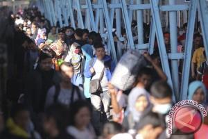 Situasi arus balik dari Bakauheni hingga bandara Soekarno Hatta