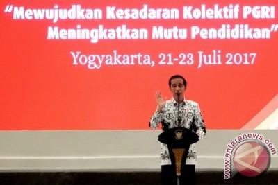 Presiden titipkan pendidikan karakter kebangsaan kepada guru