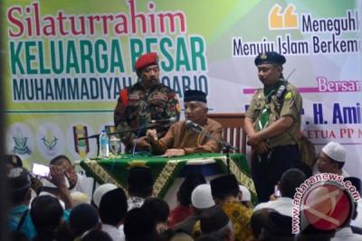 Silaturahim Keluarga Besar Muhammadyah,Amien Rais