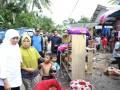 Mensos Tinjau Korban Banjir Belitung