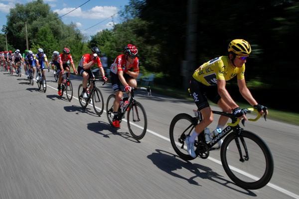 Chris Froome tetap dominasi Tour de France