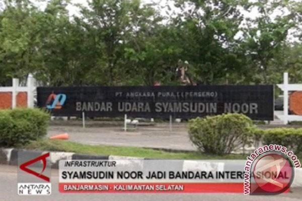 Penumpang melalui Bandara Syamsudin Noor 207.745 orang