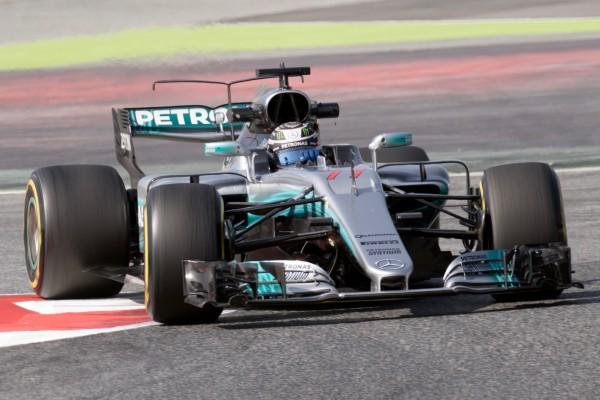 Bottas incar podium GP Silverstone meskipun dihukum penalti