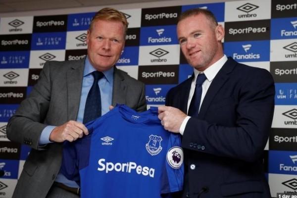 Balik ke Everton, Rooney getak gol di laga perdana