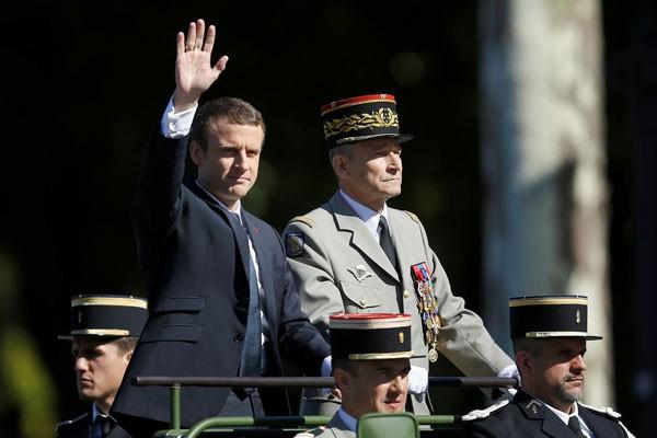 Presiden Prancis sebut serangan ke Rohingya sebagai