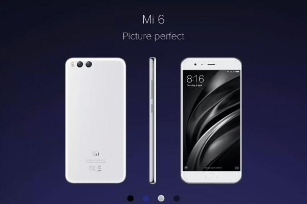 Xiaomi Luncurkan Mi 6 Putih