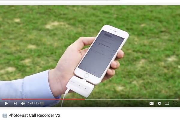 Alat ini dapat rekam semua panggilan iPhone
