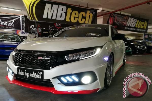 Baru sebulanan meluncur, modifikator Aceh jamah Civic Hatchback
