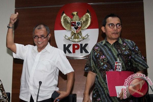 KPK katakan penetapan Setnov tersangka tidak terkait pansus