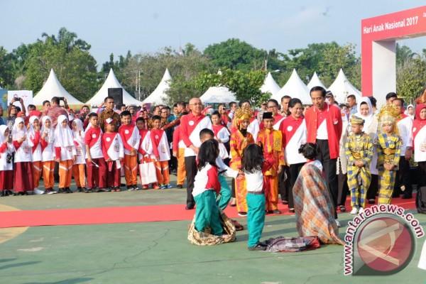 Anak Indonesia sampaikan 10 permintaan kepada Preside  Jokowi