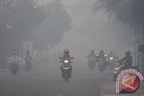 Asap selimuti sebagian Aceh Barat