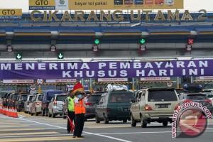 Libur Idul Adha, 93.000 mobil di gerbang Cikarang Utama