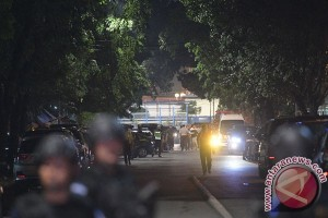 Polres Ogan Komering Ulu rangkul TNI latihan antisipasi serangan teror