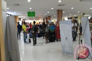 Pemudik di Bandara Syamsudin Noor capai 168.677 orang