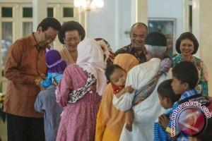 Ribuan warga hadiri silaturahmi Lebaran dengan Sultan Hamengkubuwono X