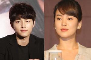 Song Hye-kyo bantah menikah karena sudah hamil