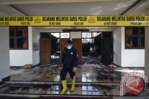 Kebakaran Kantor Disperindag Jatim