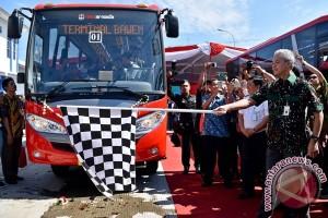 Peluncuran BRT Trans Jateng