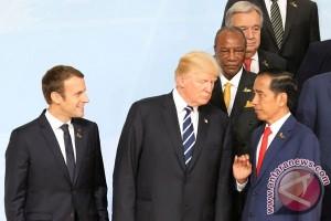 jokowi, trump meet on sidelines of G20 Summit