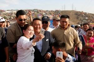 Bekas bintang beladiri Battulga unggul dalam pilpres Mongolia