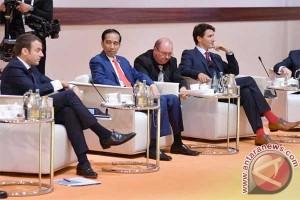 Jokowi awali pertemuan bilateral dengan PM Belanda