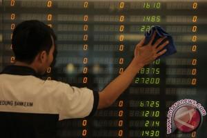 Saham-saham naik tipis, IHSG BEI menguat 33 poin