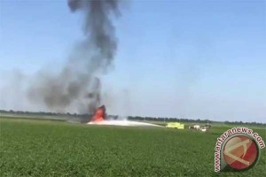Pesawat militer AS kecelakaan di Mississippi, 16 tewas