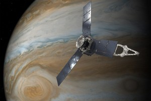 Pesawat NASA intip badai raksasa di Jupiter