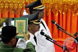 Pelantikan Bupati Aceh Utara