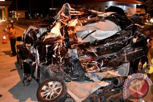 Kecelakaan Karambol Tol Ungaran