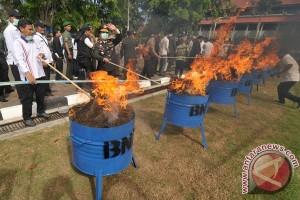 Pemusnahan Narkotika Aceh