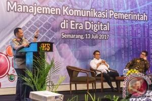 Diskusi Manajemen Komunikasi Pemerintah