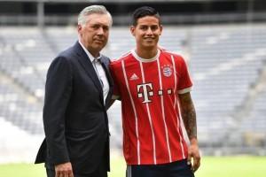 Tekad James Rodriguez berburu gelar bersama Bayern Muenchen