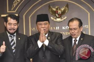 Arief Hidayat kembali menjabat Ketua MK