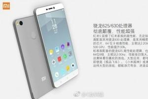 Bocoran gambar Xiaomi Redmi 5 ungkap spesifikasi