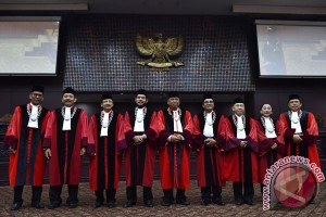 MK mulai sidang uji materi ketentuan hak angket DPR