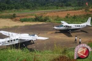 Pemerintah membangun empat bandara perintis di Kalimantan Utara
