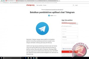 Pemblokiran Telegram disambut petisi daring