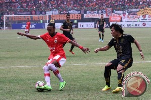 Persija kalahkan Borneo 1-0 meski minim persiapan