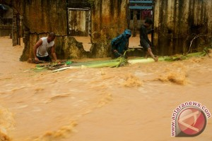 Banjir landa beberapa desa di Pulau Morotai