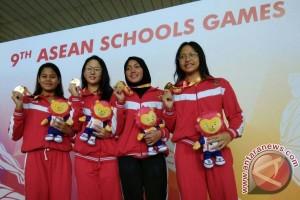 Renang Indonesia tambah empat emas hari terakhir ASG 2017