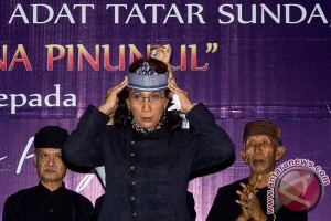 Susi Pudjiastuti dapat gelar kehormatan dari masyarakat adat Jawa Barat